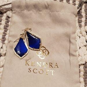 Kendra scott royal blue earrings